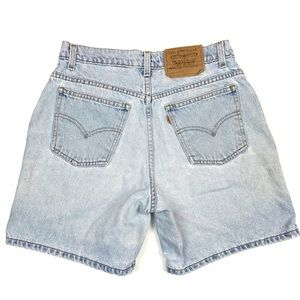 Vintage Levi's Orange Tab 967 Relaxed Fit Shorts